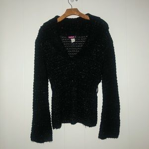 Black & Silver Sweater